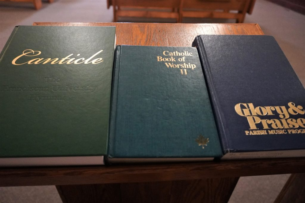 Hymnals Available